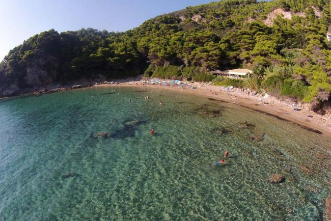 jimmys pelekas popular beaches corfu yaliskari beach 1