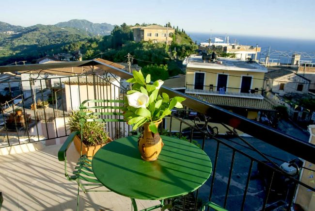 jimmys pension pelekas accommodation corfu 12