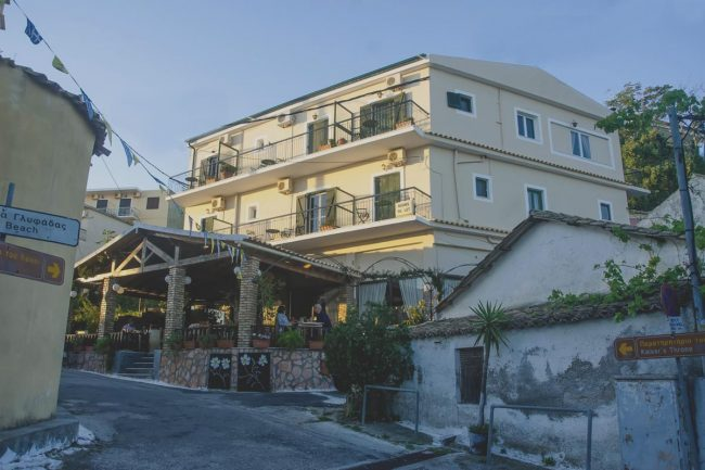 jimmys pension pelekas accommodation corfu 27