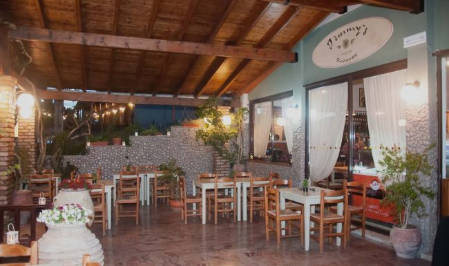 jimmys pension pelekas restaurant corfu 33